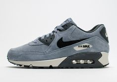 The Nike Air Max 90 Goes Premium with Perforated Suede Upper - SneakerNews.com
