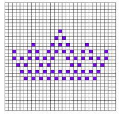 Ravelry: Tiara Bobble Chart pattern by Kari Philpott