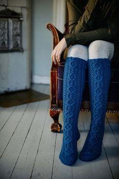 Sydänystävä-palmikkoneulesukat Novita 7 Veljestä   Novita knits