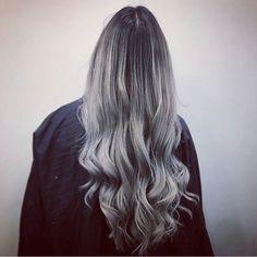 Hair by Lee at Allertons #Leeds #Hair #HairLeeds #HairColour #Inspiration #ByLee #Allertons #AllertonsOnline #EverythingBeauty #Balayage #blacktogrey #greyhair
