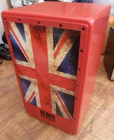 """Hand Crafted """" Brittania """" Custom Cajon From RJM Custom Cajons Hand Crafted Custom Cajon From RJM Custom Cajons ...various designs Order Now To get One for Your Loved One For Xmas www.rjmcustomcajons.co.uk..."""