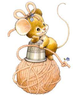 gato y ratón ~*~ Ruth Morehead ~*~ Illustration Mignonne, Cute Illustration, Cartoon Pics, Cute Cartoon, Animal Drawings, Cute Drawings, Cute Images, Cute Pictures, Art Fil