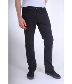 Alex Maine Brushed Twill Prime Pants - Black