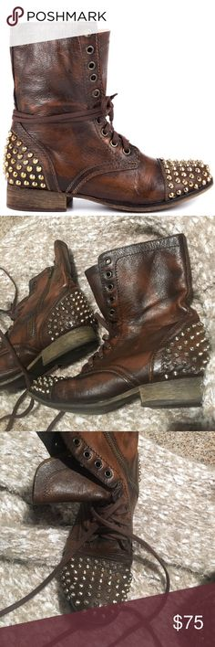 Steve Madden Tarney Boots These are my favorite boots, but I just don't wear them that often. They're in great condition! Steve Madden Shoes Combat & Moto Boots