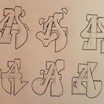 Letter N, Alphabet Letters, Love Letters, Graffiti Sketch, Graffiti Drawing, Graffiti Lettering Alphabet, 36 Days Of Type, Caligraphy, Street Art