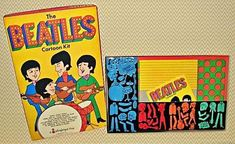 This Colorforms version of The Beatles was based on their television cartoon series, which, reportedly, the boys didn't like until the checks started rolling in. Beatles Band, The Beatles, Beatles Poster, Band On The Run, Commercial Ads, Classic Monsters, The Fab Four, Monster Party, Modern Kids