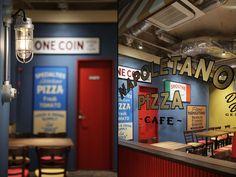 Pizza Napoletano Café by BaNANA OFFICE, Tokyo - Japan
