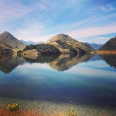 Gorgeous summer day at Moke Lake just outside of Queenstown! #summer #mustvisit