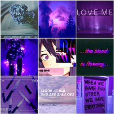 Yuri and Natsuki Mood Boards - Believe me darling the stars were made for falling
