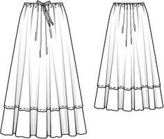 119_0511_b_large Fashion Design Template, Fashion Design Sketches, Pattern Fashion, Dress Sketches, Couture, Fashion Sewing, Dress Patterns, Sewing Patterns, Modest Dresses