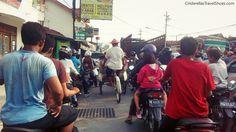 Traffic in Yogakarta, Indonesia