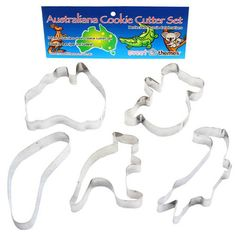 Australiana Cookie Cutters