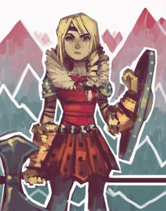 Astrid by missdoodle.tumblr.com
