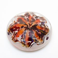 Pomegranate Paperweight by April Wagner (Art Glass Paperweight)   Artful Home