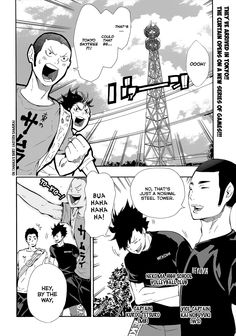 Read manga Haikyuu!! Ch.078: Let's go to Tokyo, For REAL! online in high quality