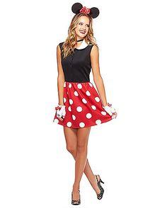 Adult Minnie Mouse Dress - Disney - Spirithalloween.com