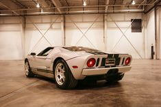 Ford Gt In Quicksilver Gray