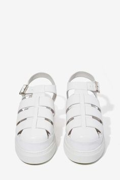 Jeffrey Campbell Faldo Leather Sandal