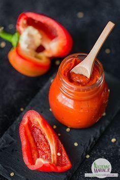Domowe przetwory: pasta z czerwonej papryki