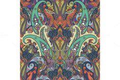 Paisley Ethnic Pattern @creativework247