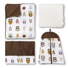 Sweet Jojo Designs 11pc Night Owl Crib Set