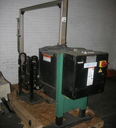 Used Signode strapping machine