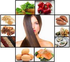 Los Mejores Alimentos Para Fortalecer Tu Pelo #estetica