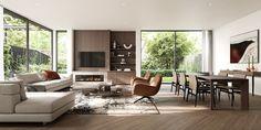 Carson Street – Bergman & Co. Apartments For Sale, Amazing Architecture, 3 D, Floor Plans, Flooring, Interior Design, Modern, Table, House