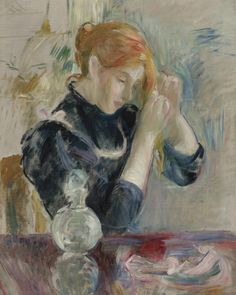 Before the Bath by Berthe Morisot   Art Posters & Prints