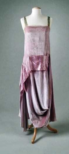 Callot Soeurs Dress c1921 beautiful colour