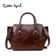 Cobbler American Style Crossbody Leather Bag