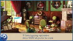 Letters from Nowhere (Full)-Hidden Objects mystery to challenge the eyes and mind! #iPhone #iPad #Apps