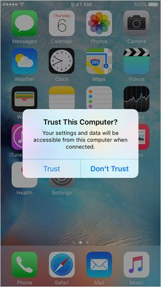"What the ""Trust This Computer"" alert on your iPhone means (Apr 22, 2016)"