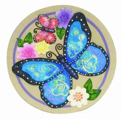 1000 images about hand painted stepping stone on - Hand painted garden stones ...
