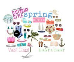 Spring Break Style - West Coast vs East Coast  #jewelry #eco #ecofashion #ecojewelry #ecofriendly #empowering #ecoresin #accessorizeresponsibly