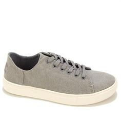 TOMS Lenox Woven Lace-Up Sneaker - Red