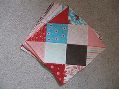 Happy Quilting: Disappearing 16 Patch Tutorial