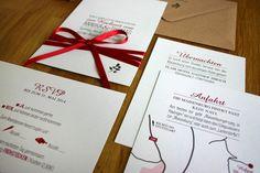 Hochzeitseinladung Päckchen