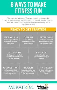 8 Ways To Make Fitness Fun