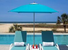 Treasure Island Beach Resort | Florida Vacation Treasure Island Beach, Sands Resort, Pool Chairs, Clearwater Beach, Florida Vacation, Beach Resorts, Patio, Outdoor Decor, Florida Holiday