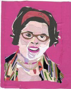 self portrait collage by manneQUEEN.deviantart.com on @deviantART