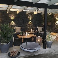 Patio Patio The post Patio appeared first on Terrasse ideen. Outdoor Balcony, Outdoor Rooms, Outdoor Gardens, Outdoor Decor, Outdoor Lamps, Outdoor Lounge, Backyard Patio Designs, Backyard Landscaping, Patio Ideas