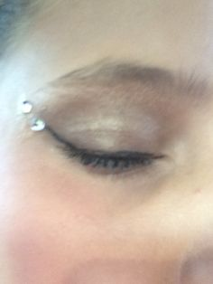This is my dance competition makeup