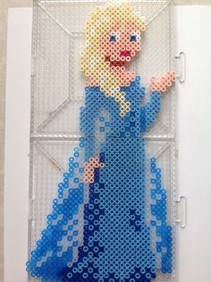 Queen Elsa - Frozen Hama Perler Beads