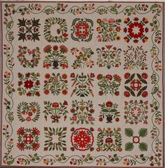Glorious Applique: photo of Mary Mannakee quilt