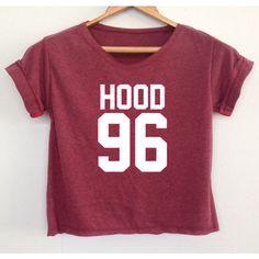 Crop Hood 96 Calum Shirt Five Seconds of Summer Tank Tunic Women's... ($13) ❤ liked on Polyvore featuring tops, tunics, shirts, crop tops, maroon, women's clothing, summer crop tops, red top, hooded shirt and shirt tunic