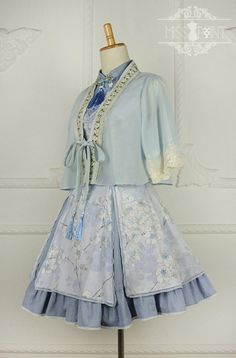 Cheap Sakura Poem Qi Miss Point Lolita Jumper Dress Sale At Lolita Dresses Online Shop. We provide Lolita products with quality and best service online, lower price and top style fashion for you. Dress Outfits, Casual Dresses, Fashion Outfits, Kawaii Fashion, Lolita Fashion, Estilo Lolita, Anime Dress, Japanese Outfits, Kawaii Clothes