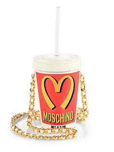 Moschino Fast-Food-Drink Crossbody Bag