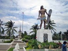 Statue of Lapu Lapu on Mactan Island, Cebu, Philippines. Lapu Lapu was a chieftain on Mactan Island and the commander of the Filipino native forces which killed Ferdinand Magellan at the Battle of Mactan in Philippines Travel Guide, Visit Philippines, Battle Of Mactan, Mactan Island, 10 Interesting Facts, Cebu City, Today In History, Tourist Spots, Travel Tours