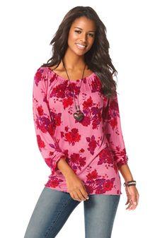 Boysen's Longshirt im Online Shop von Ackermann Versand Im Online, Floral Tops, Tunic Tops, Glow, Shopping, Garden, Women, Fashion, Moda